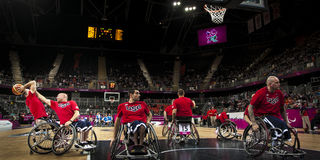 London 2012 Paralympic game Stock Photography