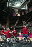 London 2012 Paralympic game Stock Photo