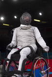 London 2012 Paralympic game. Fencing Royalty Free Stock Photos