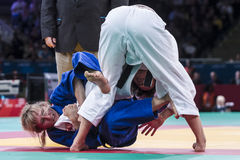 London 2012 Paralympic game. Judo Royalty Free Stock Images