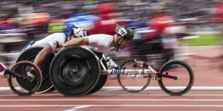 London 2012 Paralympic game Royalty Free Stock Images