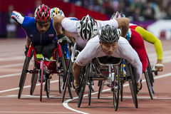 London 2012 Paralympic game Stock Image