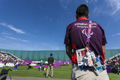 London 2012 Paralympic game Stock Images