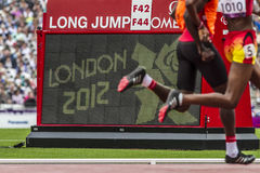 London 2012 Paralympic game Stock Photos