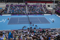 London 2012 Paralympic game. Tennis Stock Photo