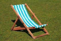 London Park Deck Chair Stock Photos