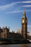 london parlament Royaltyfri Foto