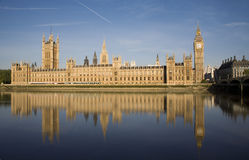 London - parlament in morning light Stock Photos