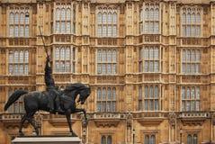 London parlamentu w domu Zdjęcie Stock