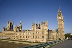 London - Parliament Royalty Free Stock Photos