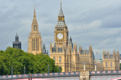 London Parliament Royalty Free Stock Image
