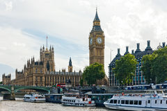 London parliament and Big Ben royalty free stock photography