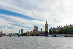 London parliament and Big Ben Stock Photography