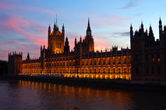 London. Parliament building. Stock Images