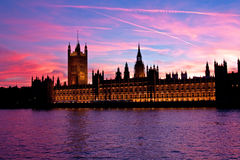 London. Parliament building. Royalty Free Stock Image