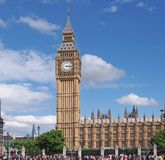 London, Parliament Building Royalty Free Stock Images