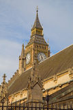London. Parliament building. Royalty Free Stock Photo