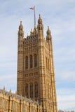 London. Parliament building. Royalty Free Stock Photos