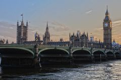 London, Parliament, England Royalty Free Stock Images