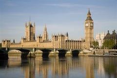 London - parliament in sunrise light Stock Photos
