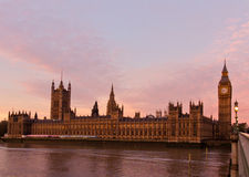 London Parliament Stock Photography