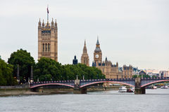 London parliament Royalty Free Stock Photos