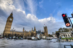 London by Parliament, UK Royalty Free Stock Photo