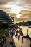 London pathway stock photos