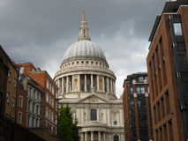 london paul s st Royaltyfri Bild