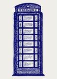 London paytelefon vektor illustrationer