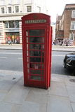 London Phone Booth. Old Telephone Booth in London Stock Photo