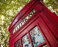 London Phone booth Royalty Free Stock Photos
