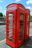 London  phone box Stock Photography