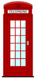 London phone box ,  illustration Stock Images
