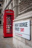 London Phone Box Royalty Free Stock Photography