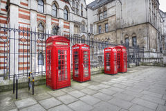 London Phone boxes Stock Image