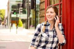 London phone call Royalty Free Stock Photo