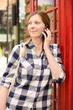 London phone call Stock Photos