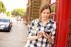 London phone call Royalty Free Stock Photos