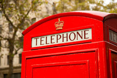 London phonebox Stock Photography