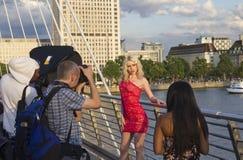 London Photoshoot Royalty Free Stock Photo