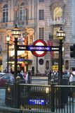 цирк london piccadilly Стоковая Фотография