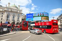 London - Piccadilly Circus Royalty Free Stock Image