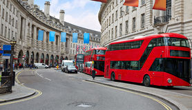 London Piccadilly Circus in UK Royalty Free Stock Image