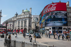 London - Piccadilly Circus Royalty Free Stock Photo