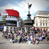 London Piccadilly Circus Stock Images