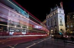 London Piccadilly cirkusfyrkant Royaltyfri Fotografi