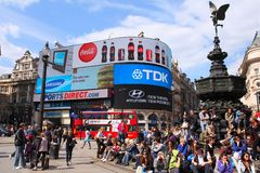 London Piccadilly Royalty Free Stock Photos