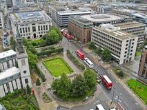 London Plaza Stock Images