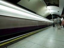 london pod ziemią zdjęcia royalty free